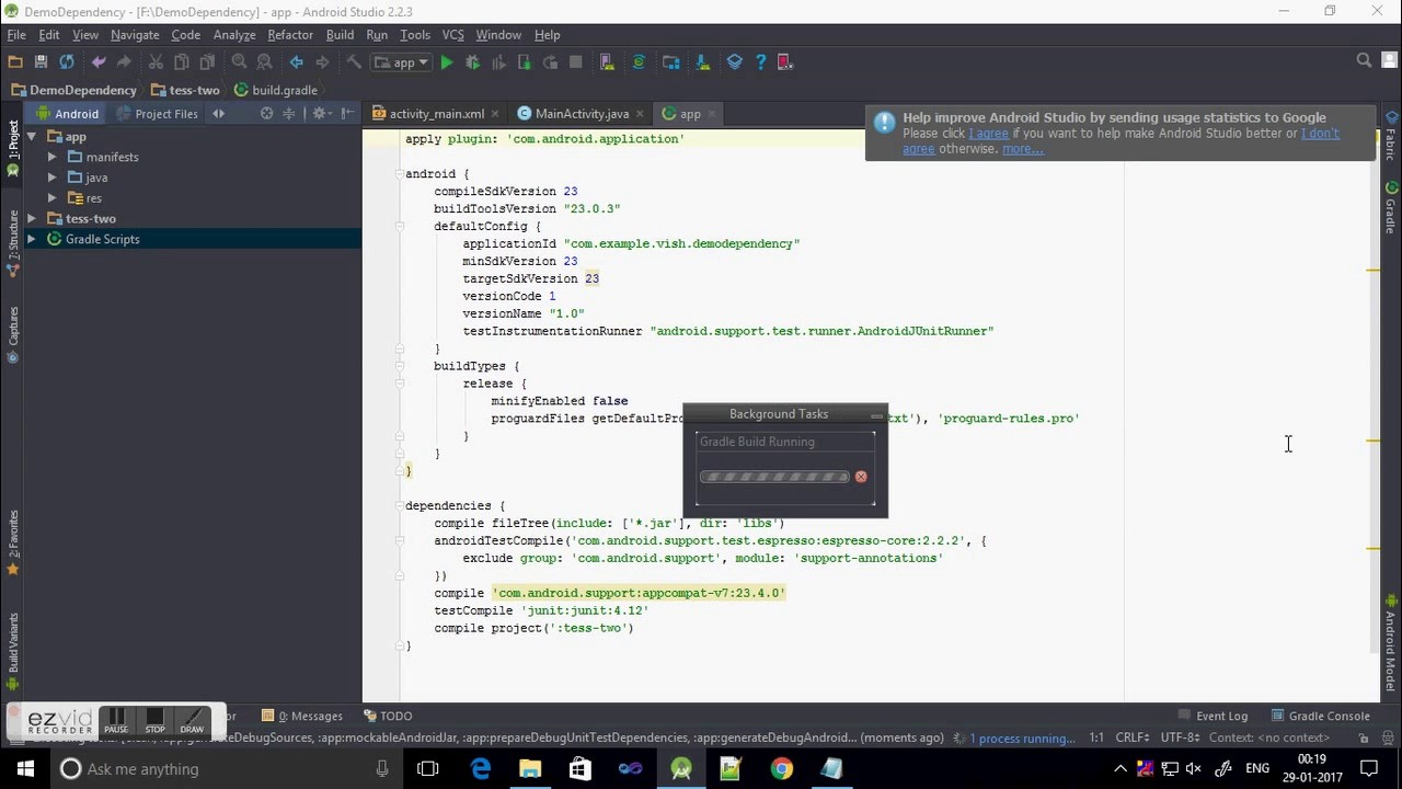 How to add project or library as module to existing project in Android  Studio?