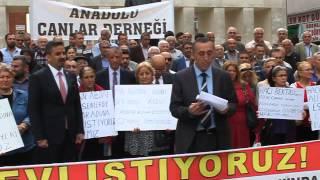 Esenler Pir sultan Abdal Derneği Başkanı Hüseyin Acar'ın konuşması
