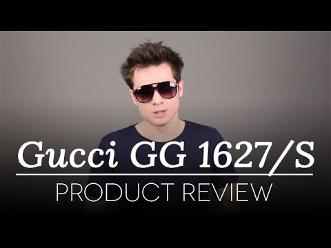 f50a30aa7ce Gucci Sunglasses Review - Gucci GG 1627 S Sunglasses - YouTube