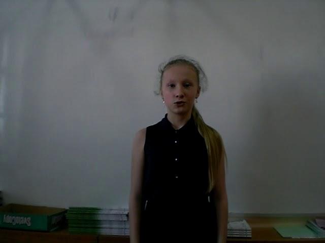 Изображение предпросмотра прочтения – ЕлизаветаКазакова читает произведение «Мужество» А.А.Ахматовой