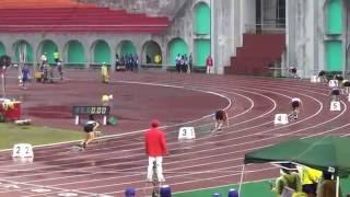 104年全大運 一般男子組田徑4x100公尺接力決賽 中央大學