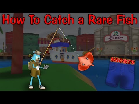 Toontown Shorts: How To Catch A Rare Fish