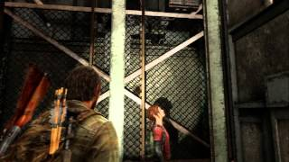 "The Last of Us - Chap 5: Elevator Shaft Sequence, ""You Scared The Shit Outta Me"" - Ellie PS3"