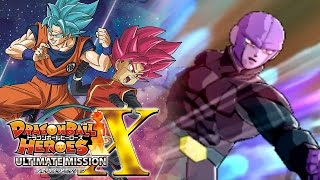 Time to unleash hit's time skip/beatdown!!! | dragon ball heroes ultimate mission x gameplay!