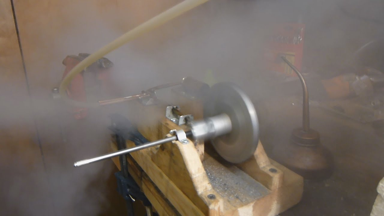 Running The Steam Engine At Higher Pressure With New Relief Valve