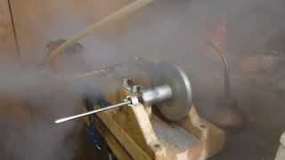 Running the Steam Engine at Higher Pressure with New Pressure Relief Valve