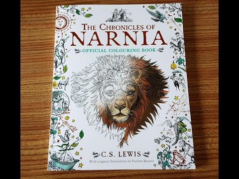 The Chronicles Of Narnia Colouring Book Review YouTube