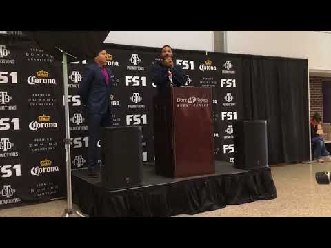 Former world champ Anthony Dirrell hosts press conference ahead of Flint bout