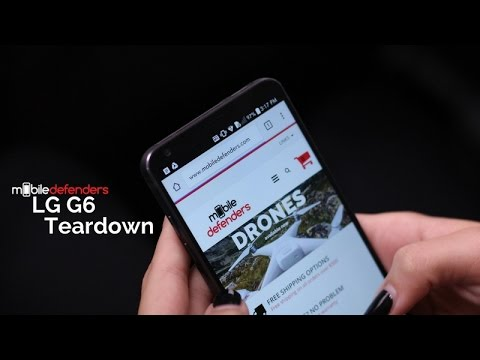 LG G6 Teardown] An Unexpected Discovery You Need to Know