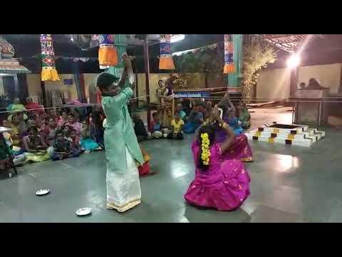 Navaratri Program At Vetri Vinayagar Temple, Jai Nagar Karumandapam Trichy.  Group Dance On 20th Oc