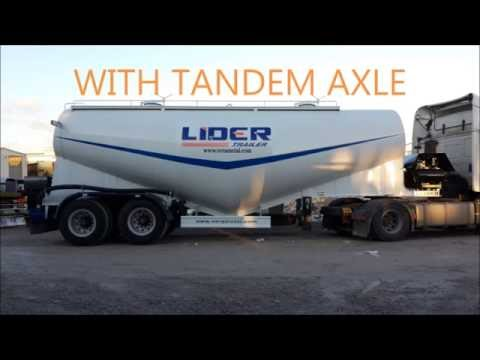 Bulk Cement Trailer / Dry Cement Trailer / Silobas / Cement Carrier
