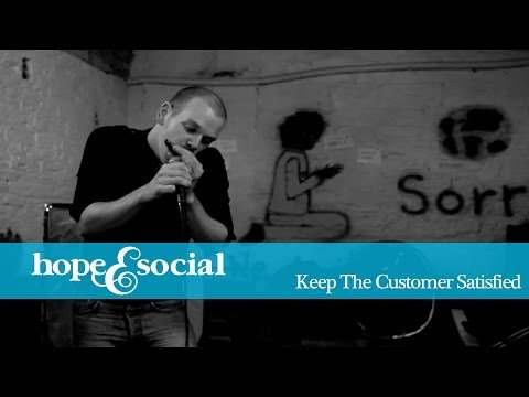 HOPE & SOCIAL | KEEP THE CUSTOMER SATISFIED ( CRYPT COVER )