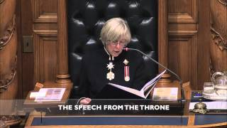 Modernization - 2014 Speech from the Throne
