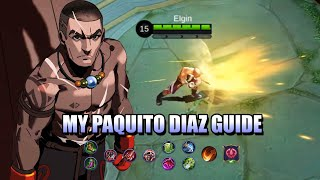 ARE YOU LOOKING FOR A PAQUITO GUIDE? CHECK OUT MY PAQUITO DIAZ GUIDE IN MOBILE LEGENDS