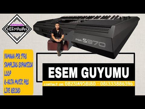 Esem lan Guyumu Karaoke - YAMAHA Sampling Loop Expansion Dangdut Koplo S970