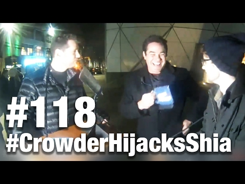 #118 CROWDER HIJACKS SHIA LABEOUF'S STREAM! Dean Cain Guests | Louder With Crowder