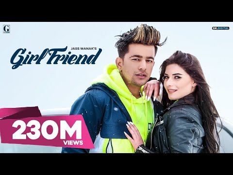 GIRLFRIEND : JASS MANAK (Official Video) Satti Dhillon | Snappy | Romantic Song GK.DIGITAL | GeetMP3
