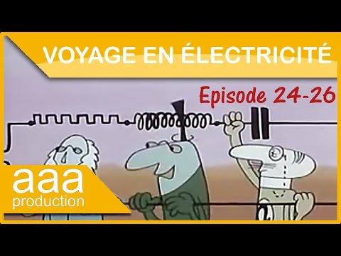 Voyage en électricité  Ep 24 - Fresnel, suivez les flèches