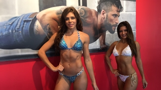Урок Позирования от Pro Bikini IFBB Шенди Ортис для Тани и Жанны