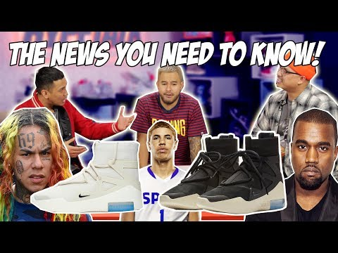 HYPETALK: FEAR OF GOD x NIKE RELEASE! TEKASHI 69! LAMELO BALL!
