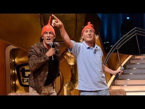 Otto Waalkes und Mirco Nontschew musizieren mit Raab - TV total