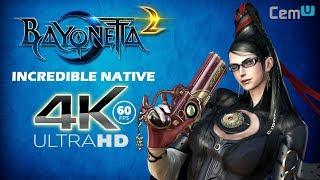 Bayonetta 2 Native 4K 60FPS Looks Incredible! (CEMU 1.13.2d) Video
