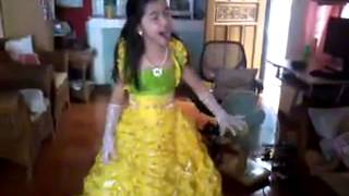 "Darlene Loraine Balasbas Vibares sings ""For the first time in forever"" (Frozen)"