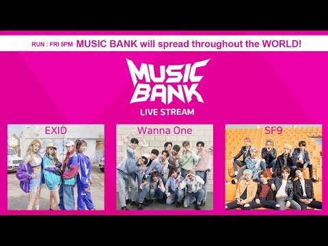 EXID, SF9,Wanna One, GoldenChild,MONSTA X, UP10TIO, April, etc [MusicBank Live 2018.04.06]