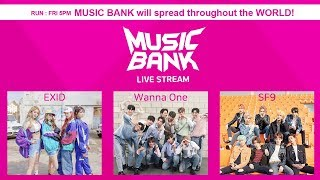EXID, SF9,Wanna One, GoldenChild,MONSTA X, UP10TION, April, etc [MusicBank Live 2018.04.06]
