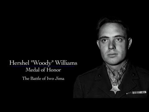 "Hershel ""Woody"" Williams, Medal of Honor, Iwo Jima - The National WWII Museum Oral History"