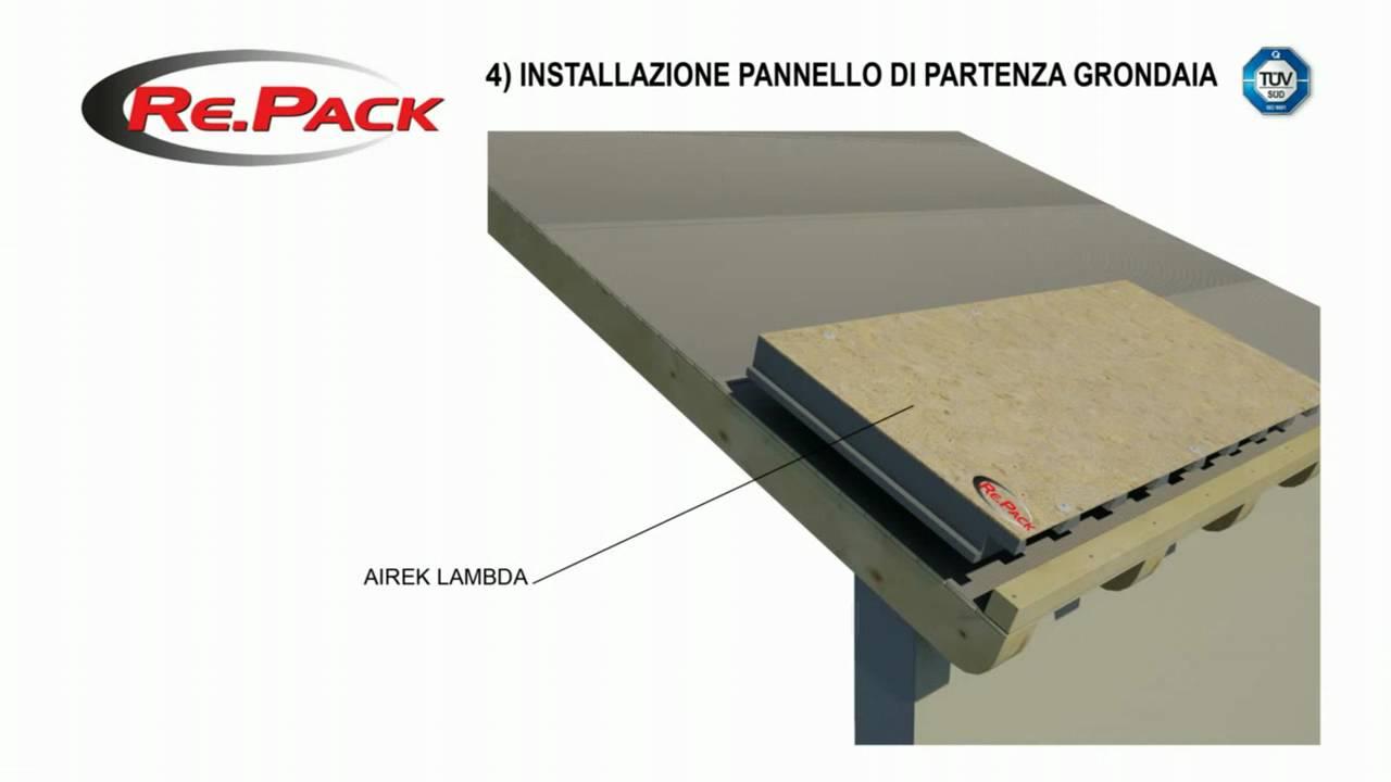 Montaggio tetto ventilato con coperture airek youtube for Montaggio tetto in legno ventilato