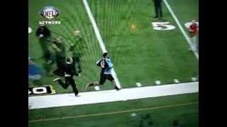 2012 rich eisen finally beats a combine player in the 40 yard dash vick ballard running back