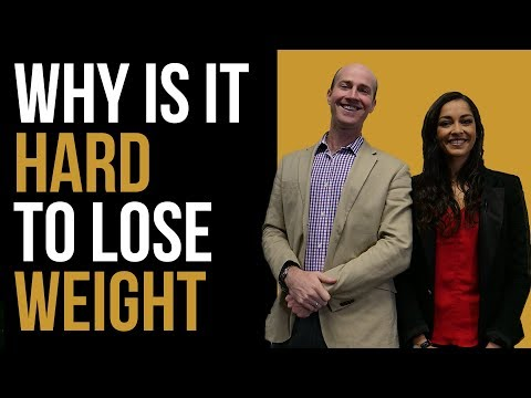 Why is it HARD to lose weight and keep it off?