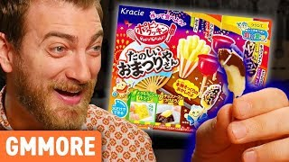 Kracie Poppin' Cookin' Festival Candy Kit Taste Test