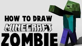 How to Draw a Minecraft Zombie