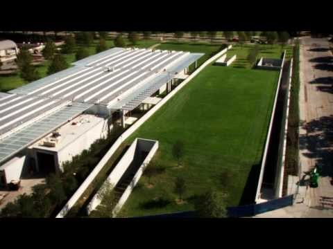 Renzo Piano's Landscape Roof for the Kimbell Art Museum HD