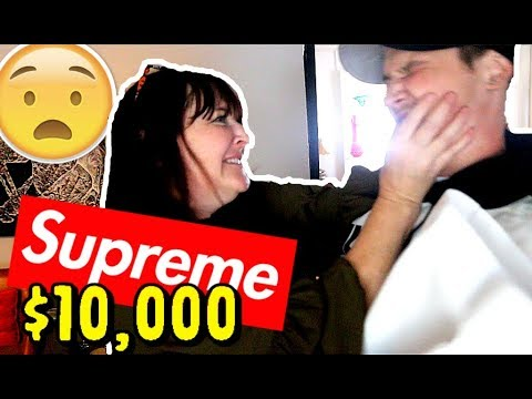 MOM FREAKS OUT ON ME FOR SPENDING $10,000 ON SUPREME HOODIE