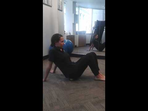 Physio in the City Glute Release with Tennis Ball