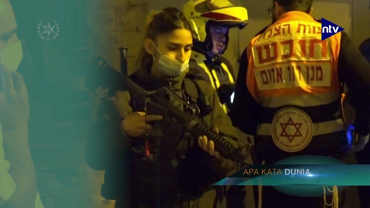 Polisi Israel Ditembaki Pria Misterius Dekat Masjid Al-Aqsa