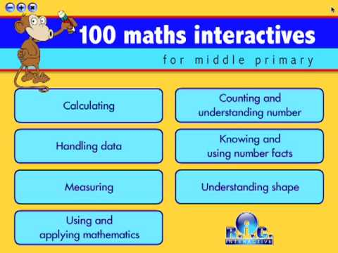 100 maths interactives for middle primary - R.I.C. Publications