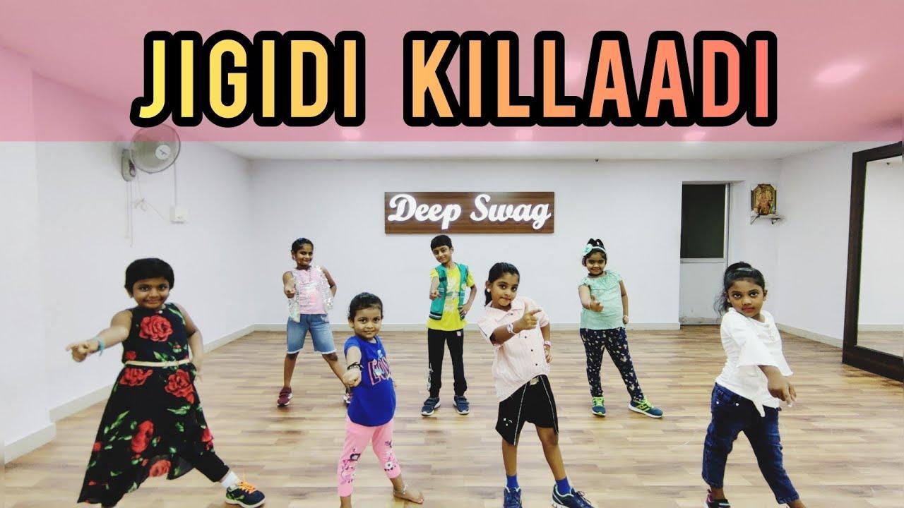 Jigidi Killaadi | Pattas | Kids Dance Video | Deep Swag Dance Studio | Dhanush | Vivek - Mervin