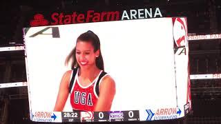 Hawks Dancers Pre Game Show