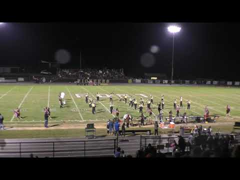 Fort Chiswell high school marching band 2018