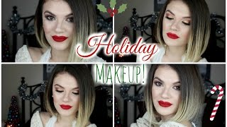 Holiday Makeup Tutorial Thumbnail
