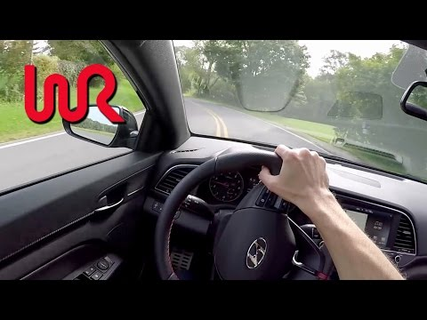 2017 Hyundai Elantra Sport 7 Speed DCT WR TV POV Test Drive