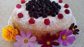 Шарлотка с ягодами. Вкусная ягодная шарлотка рецепт