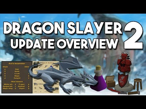 New Dragon Slayer 2 Quest, Rune Dragons and Dragon Platebody - Dragon Slayer 2 Update Overview[OSRS]