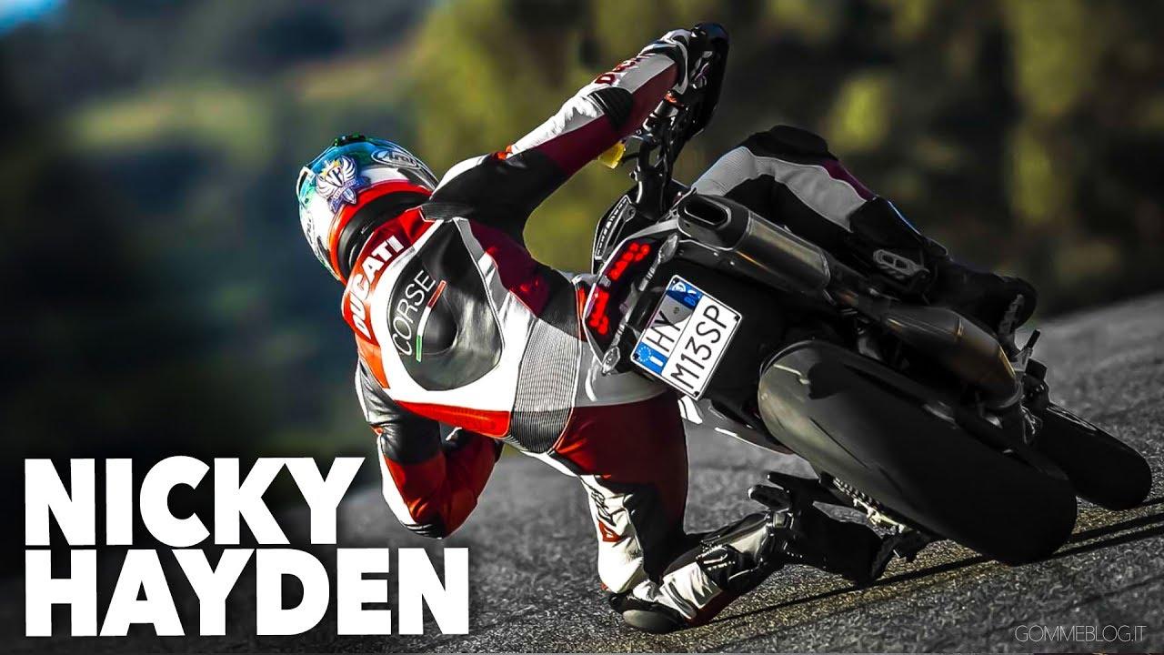 Nicky Hayden Hypermotard Wheelie Ducati Hypermotard Stunt Rider