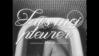 FAIS-MOI PLEURER (clip officiel) - Marcie