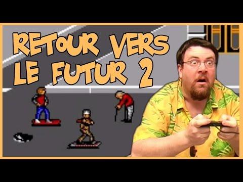 Joueur du grenier - Retour vers le futur II - Master system poster